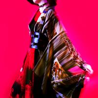 都会 Blade Kimono Woman -時空を超える夢 (昨日)