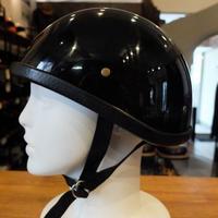 スモーキータイプ ハーフヘルメット装飾用(つやありブラック)