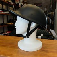 グーステールタイプ ハーフヘルメット装飾用(マットブラック)
