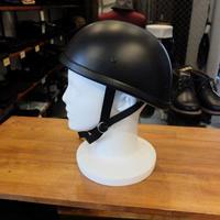ダックテールタイプ  ハーフヘルメット装飾用(マットブラック)