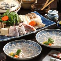 【特価】黒門市場 鮮魚川崎「天然とらふぐづくしセット」(2〜3人前)※送料無料!