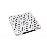 Cocoheart ペット用介護マット(オールジャパン・日本製)3種類のクッション素材で体圧分散 床ずれ予防(50cm×50cm, ホワイト)
