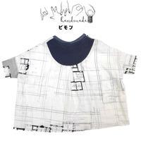 【110-120cm】PYMON 物件ワイドTシャツ