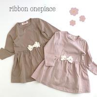【90,95cm】ribbon onepiace