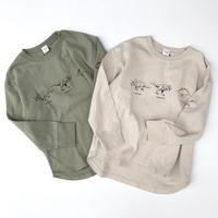 【130cm】dinosaur longsleeve t-shirts