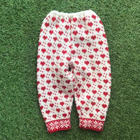 *JurianKinder*heart knit pants