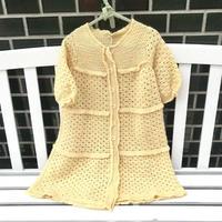 *JurianKinder*cream yellow baby long knit【jk132】