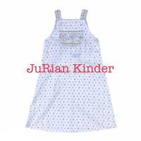 JuRian Kinder *france flower print onepiece【jk195】