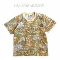 【vintage約120cm】safari t-shirts
