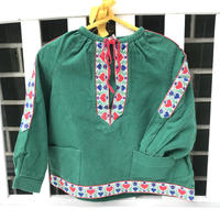 JurianKinder *green tyrol blouse【jk154】