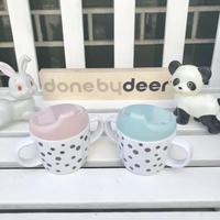 【done by deer】ハッピードット ヤミースパウトカップ