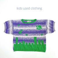 【used約130cm】SPACE summer knit