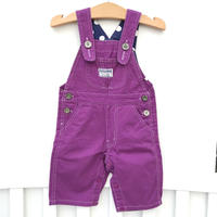 【USED95cm】purple overall