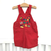 【USED100cm】mikihouse overall