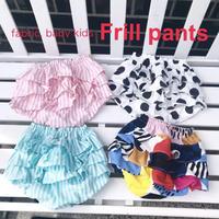 fabric. baby kids フリルパンツ