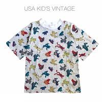 【vintage約110-120cm】frog t-shirts