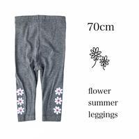 【70㎝】flower summer leggings