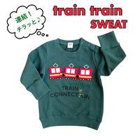 【80-120cm】チラッと♪train train sweat