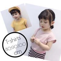 【80-100㎝】マシュマロTシャツ