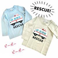 【80-100cm】RESCUE! ロングスリーブ