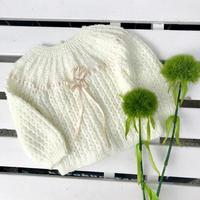 JurianKinder *baby ivory sweater【jk146】