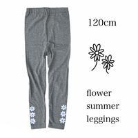 【120㎝】flower summer leggings