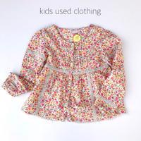 【used110cm】oshkosh flower blouse