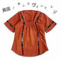 【vintage約100cm】オルテガラインシャツ