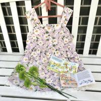 JurianKinder *flower lavender tunic【jk160】