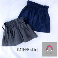 【90-100cm】Smagnet gather skirt