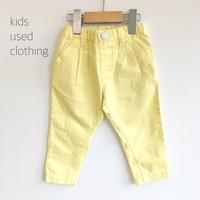 【deadstock 90cm】yellow pants