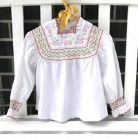 JurianKinder *embroidery  blouse【jk152】