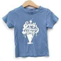 【used100cm】ブルーTシャツ