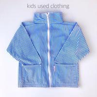 【used約110cm】blue stripe zip
