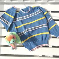 JurianKinder *blue knit【jk144】