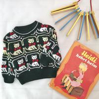 *JurianKinder*cat knit 【jk126】