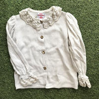 *JurianKinder*lace collar linen blouse