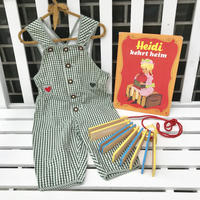 JurianKinder *green check overall【jk120】