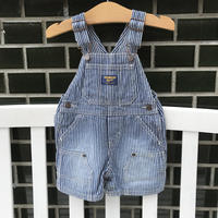 【USED80㎝】oshkosh short stripe overall