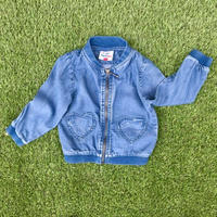 *JurianKinder*heart pocket blouson