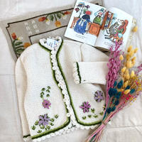 JurianKinder *flower cardigan【jk131】