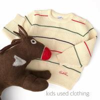 【USED110cm】Arnold palmer retro sweater