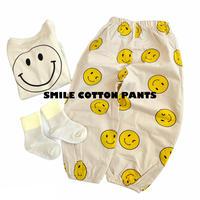 【73-100cm】smile pants