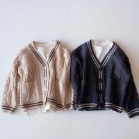 <即納>cable knit cardigan(xs,m)