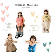 mini robe model size