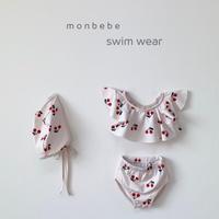 cherry swim wear set