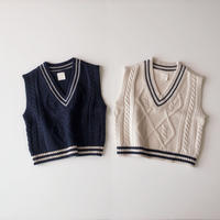 <即納>school vest(xs,m)