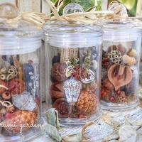 木の実のボトル