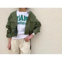 【御予約】ミリタリーリメイクジャケット(ショート)