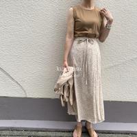 フラワーラップスカート